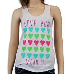 Love You, Mean It Ash Tank Top