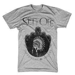 /Set It Off Headdress Heather Grey