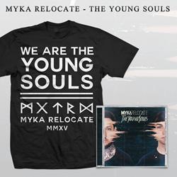 Myka, Relocate - The Young Souls T-shirt Bundle