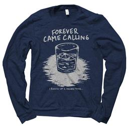 Whiskey Heather Navy Crewneck