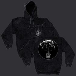 Greying Mineral Black Hooded Pullover