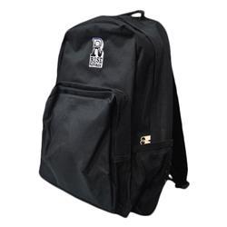 R Logo Black Backpack