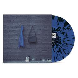 Why Did You Do It? Blue W/ Black Splatter