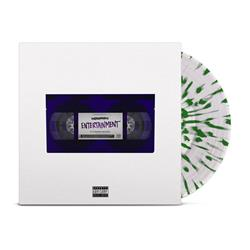 Entertainment Clear W/ Green Splatter