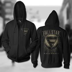 Backdraft Black Zip-Up *Final Print*