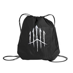 Logo Black Cinch Bag