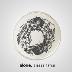 alone. Mice White Patch