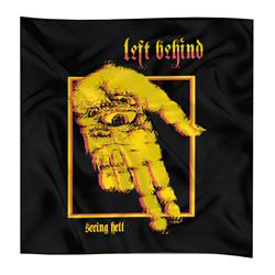 Seeing Hell Black Custom Flag