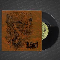 Obliteration Self-Titled Black 7 Inch Vinyl