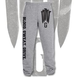 Blood Sweat Drive Heather Grey Sweatpants