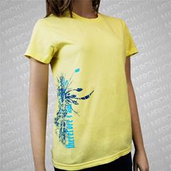Tangled Yellow Girl's Tee