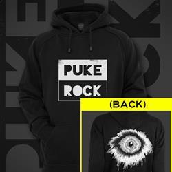 Puke Rock Eye Black