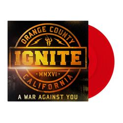 A War Against You Red  + CD