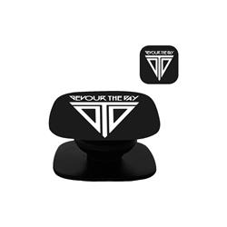 Logo Black Pop Socket