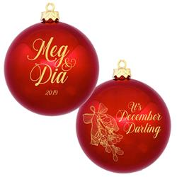 December, Darling Ornament