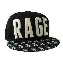 Rage Black Snapback