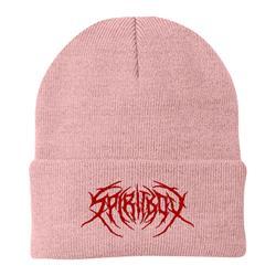 Death Metal Logo Light Pink