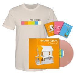 Glazed LP + T-Shirt + Limited Edition Notebooks