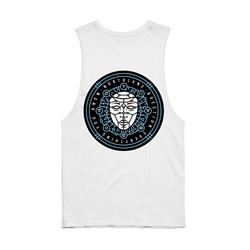 Question Everything Sleeveless White