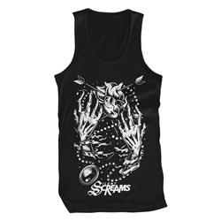 Hands & Heart Black Tank Top