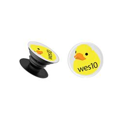 Wes10 White Pop-Socket