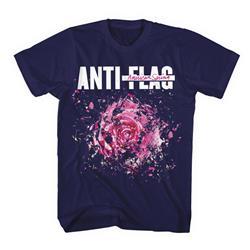 American Spring Exploding Flower Navy T-Shirt