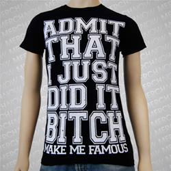 Admit It Black