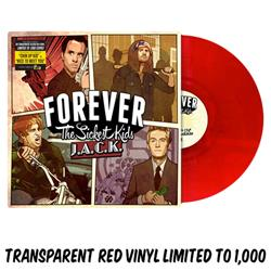 J.A.C.K. Transparent Blood Red Vinyl LP