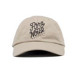 Cursive Logo Khaki Dad Hat                                                 PN MERCH