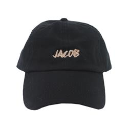 Gold Logo Black Dad Hat
