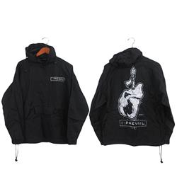 Sabretooth Black Windbreaker