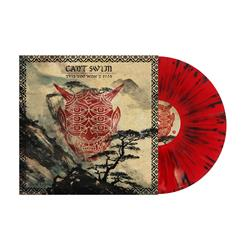 Blood Red w/ Heavy Black And Gold Splatter Vinyl