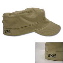 Embroidered 'SXE' Tan    (7 1/2)
