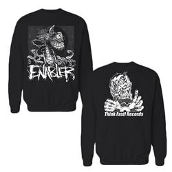 Shift Of Redemption Black Crewneck