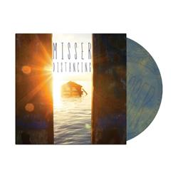 Distancing Opaque Blue/Gold Starburst LP