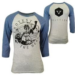 Without Prejudice Heather/Denim - The Volition Line