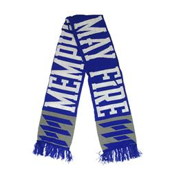 Logo Blue / White Winter Scarf