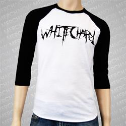 Black Logo Black/White Baseball Shirt