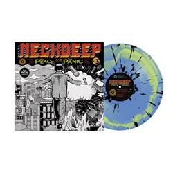 The Peace & The Panic Blue/Green Smash W/ Black Splatter