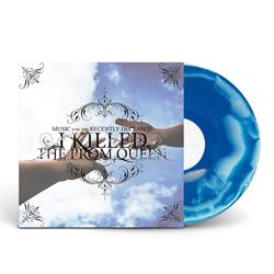 Music For The Recently Deceased Transparent/Sky Blue Marble Vinyl LP
