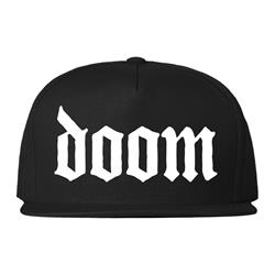 Doom Snapback Version 4 Black Snapback Hat