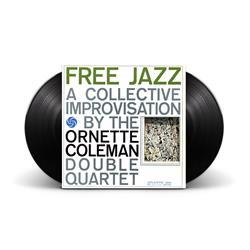 Free Jazz Black 2LP 180 Gram Vinyl Audiophile Release