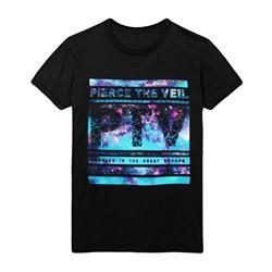 Tangled Galaxy Black T-Shirt