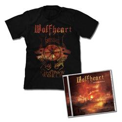 Wolfheart - Shadow World CD + T-Shirt Bundle