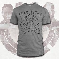 Rose Heather Grey T-Shirt