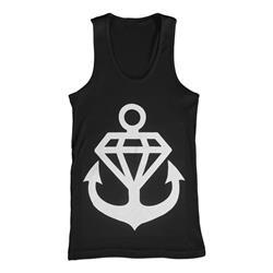 Diamond Anchor Black