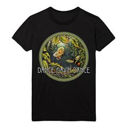 Enchanted Butterfly Black T-Shirt
