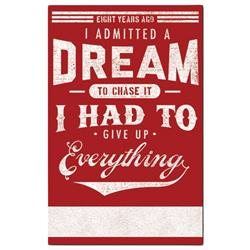 I Admitted A Dream
