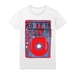 3-D White T-Shirt