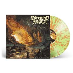 Wretched Illusions Green W/ Orange Splatter
